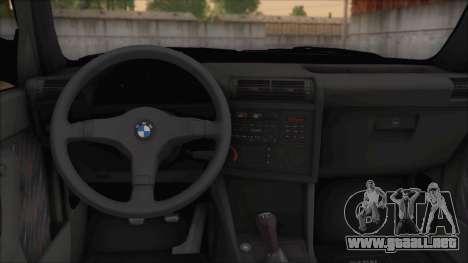 BMW M5 E30 para la visión correcta GTA San Andreas