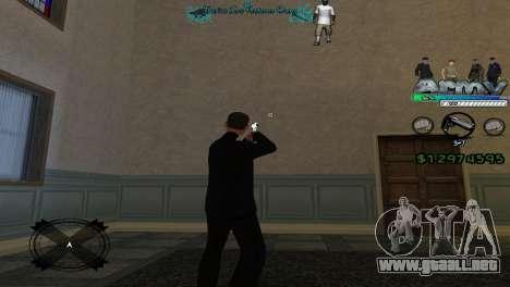 Hud By Tony para GTA San Andreas segunda pantalla