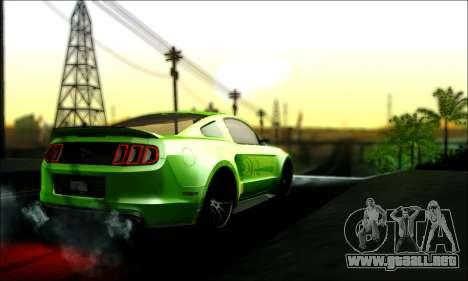 Ford Mustang GT 2013 v2 para GTA San Andreas left