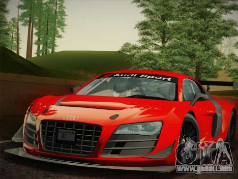 Audi R8 LMS Ultra W-Racing Team Vinyls para GTA San Andreas