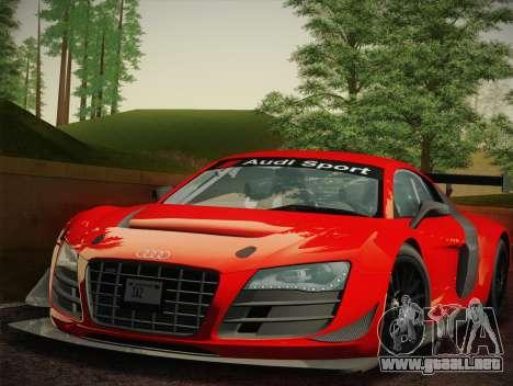 Audi R8 LMS Ultra W-Racing Team Vinyls para GTA San Andreas