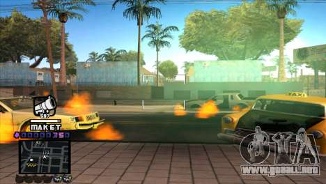 C-HUD Maket para GTA San Andreas tercera pantalla