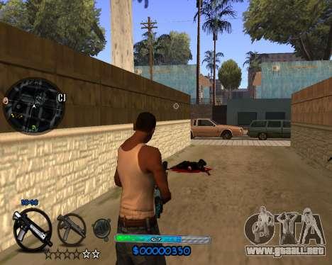 C-HUD by Vadya para GTA San Andreas tercera pantalla