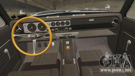 Lotus Cortina 1963 para GTA 4 vista lateral
