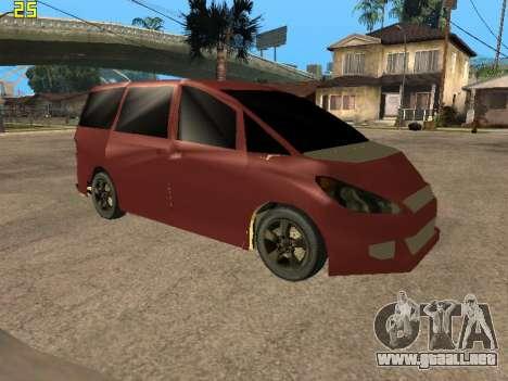 Toyota Estima 2wd para GTA San Andreas
