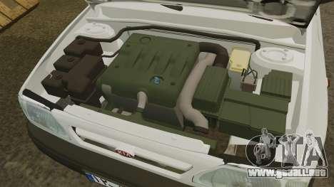 Kia Pride 131 EX para GTA 4 vista interior