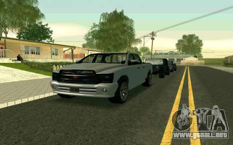 GTA V Bison Version 2 FIXED para GTA San Andreas left