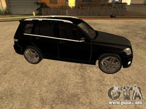 Mercedes-Benz GLK para GTA San Andreas left
