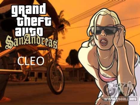 El CLEO library para Android desde 04.01.2014 para GTA San Andreas Android
