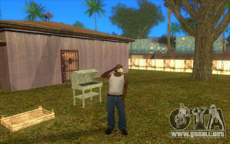 Barbecue para GTA San Andreas sucesivamente de pantalla