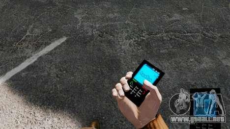 Aqua Blue theme para tu teléfono para GTA 4