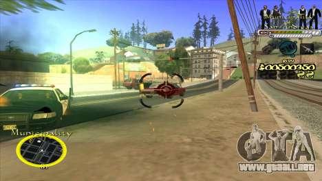 C-HUD Municipality para GTA San Andreas tercera pantalla