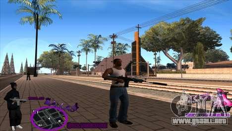 C-HUD Ballas by HARDy para GTA San Andreas