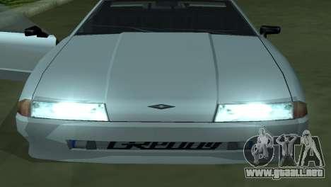 Elegy 280sx para vista inferior GTA San Andreas