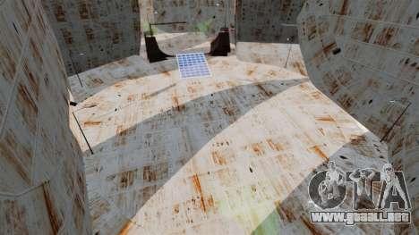 De dos plantas de arena para carreras de destruc para GTA 4