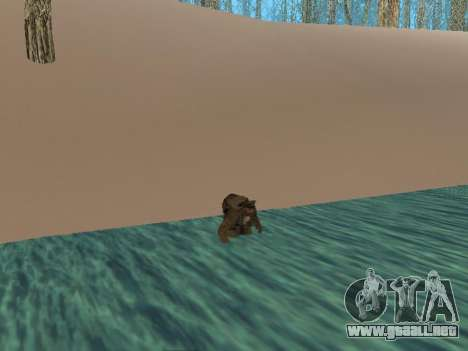 Mochila 2.0 para GTA San Andreas tercera pantalla