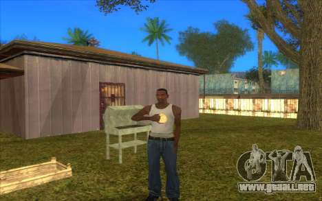 Barbecue para GTA San Andreas tercera pantalla