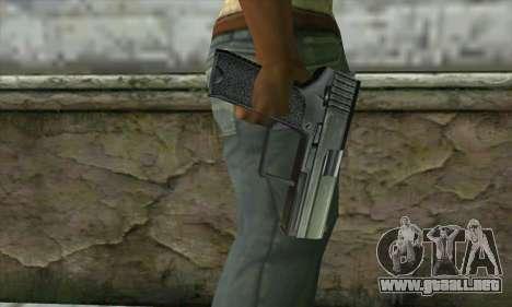 Pistola para GTA San Andreas tercera pantalla