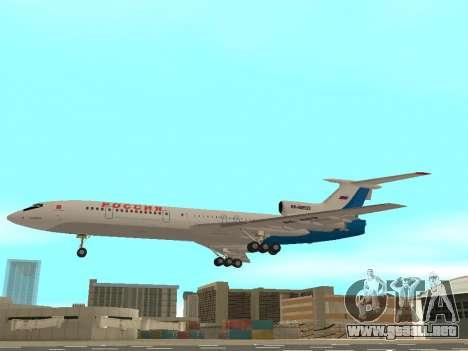 Tu-154 B-2 SCC de Rusia para GTA San Andreas left