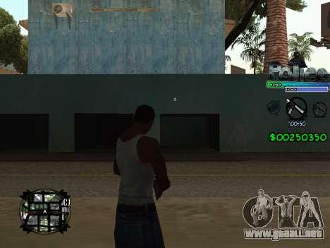 C-HUD by Powwer para GTA San Andreas segunda pantalla