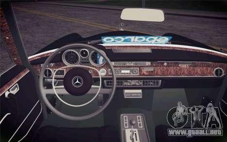 Mercedes-Benz 300 SEL para la visión correcta GTA San Andreas