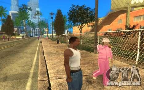 Barbecue para GTA San Andreas quinta pantalla