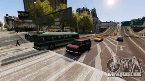 El tráfico real para GTA 4 tercera pantalla