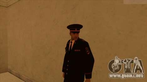 Pieles de la policía y el ejército para GTA San Andreas octavo de pantalla