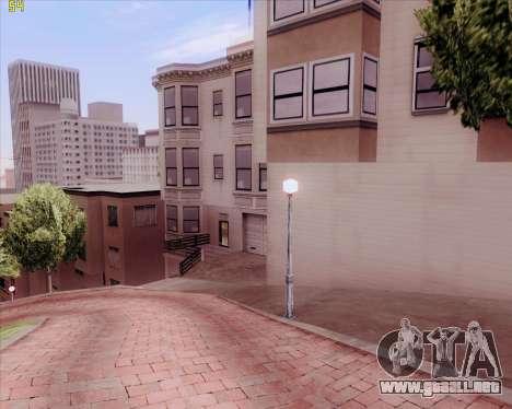 ENB HD CUDA 2014 v.3.5 Final para GTA San Andreas segunda pantalla