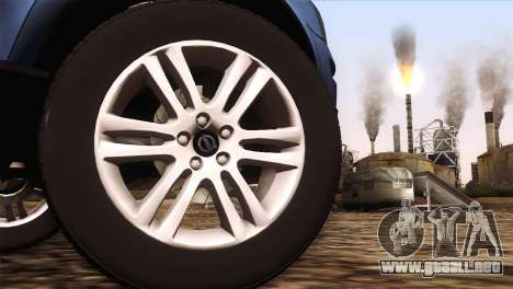 Volvo XC90 2009 para la visión correcta GTA San Andreas
