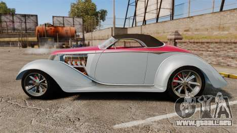 Ford Roadster 1936 Chip Foose 2006 para GTA 4 left