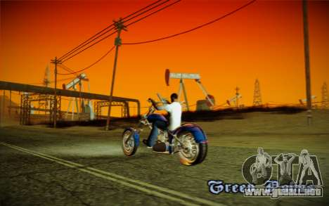 ENBSeries débil para PC para GTA San Andreas quinta pantalla