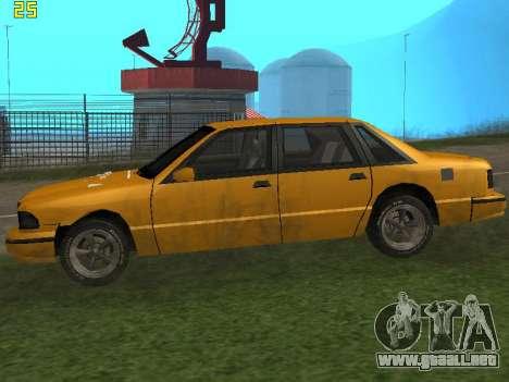Premier 2012 para GTA San Andreas vista posterior izquierda