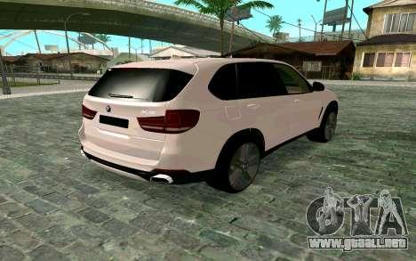 BMW X5 F15 para GTA San Andreas left