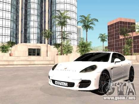 Porsche Panamera 2011 para GTA San Andreas