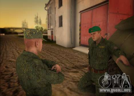 El ejército ruso moderno para GTA San Andreas tercera pantalla