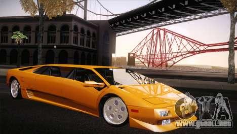 Lamborghini Diablo Stretch para GTA San Andreas