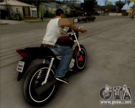 Honda Titan para la visión correcta GTA San Andreas