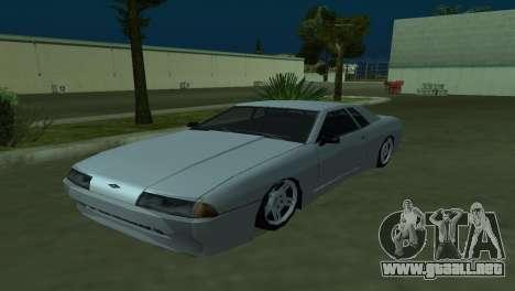 Elegy 280sx para GTA San Andreas vista hacia atrás