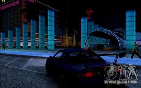 ENB HD CUDA 2014 v1.0 para GTA San Andreas quinta pantalla