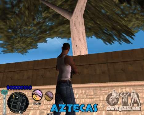 C-Hud by Abelardo para GTA San Andreas segunda pantalla