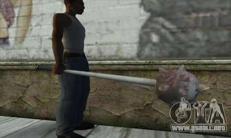 Spikes Hammer para GTA San Andreas tercera pantalla