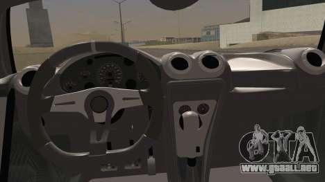 Gumpert Apollo Sport V10 para la visión correcta GTA San Andreas