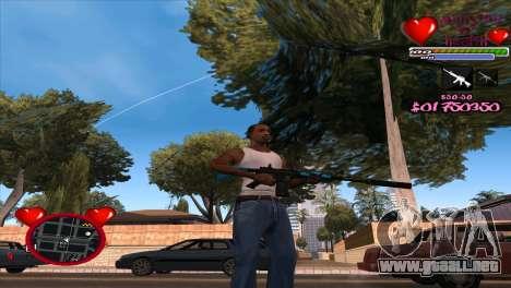 C-HUD Ministry Of Health para GTA San Andreas