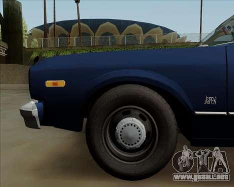 Dodge Aspen para vista lateral GTA San Andreas