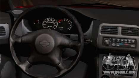Nissan Silvia S14.5 para la visión correcta GTA San Andreas