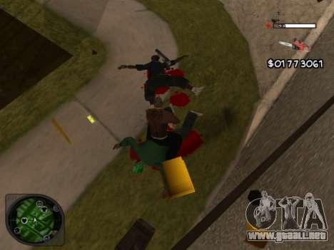 C-HUD by Azov para GTA San Andreas tercera pantalla