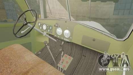 ZIL-157 GVK-32 para GTA 4 vista interior
