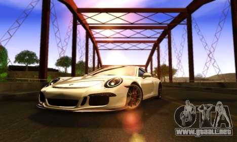 ENBSeries Exflection para GTA San Andreas quinta pantalla