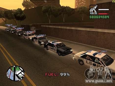 SA-MP 0.3z para GTA San Andreas tercera pantalla